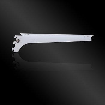 Полкодержатель для ДСП на Vertical белый, L=300mm, T=2mm