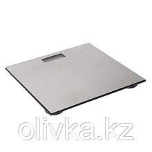 Весы напольные LuazON LVE-27, электронные, до 180 кг, CR2032 (в комплекте), металлик
