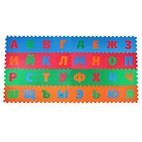 Детский коврик-пазл «Алфавит», упаковка МИКС