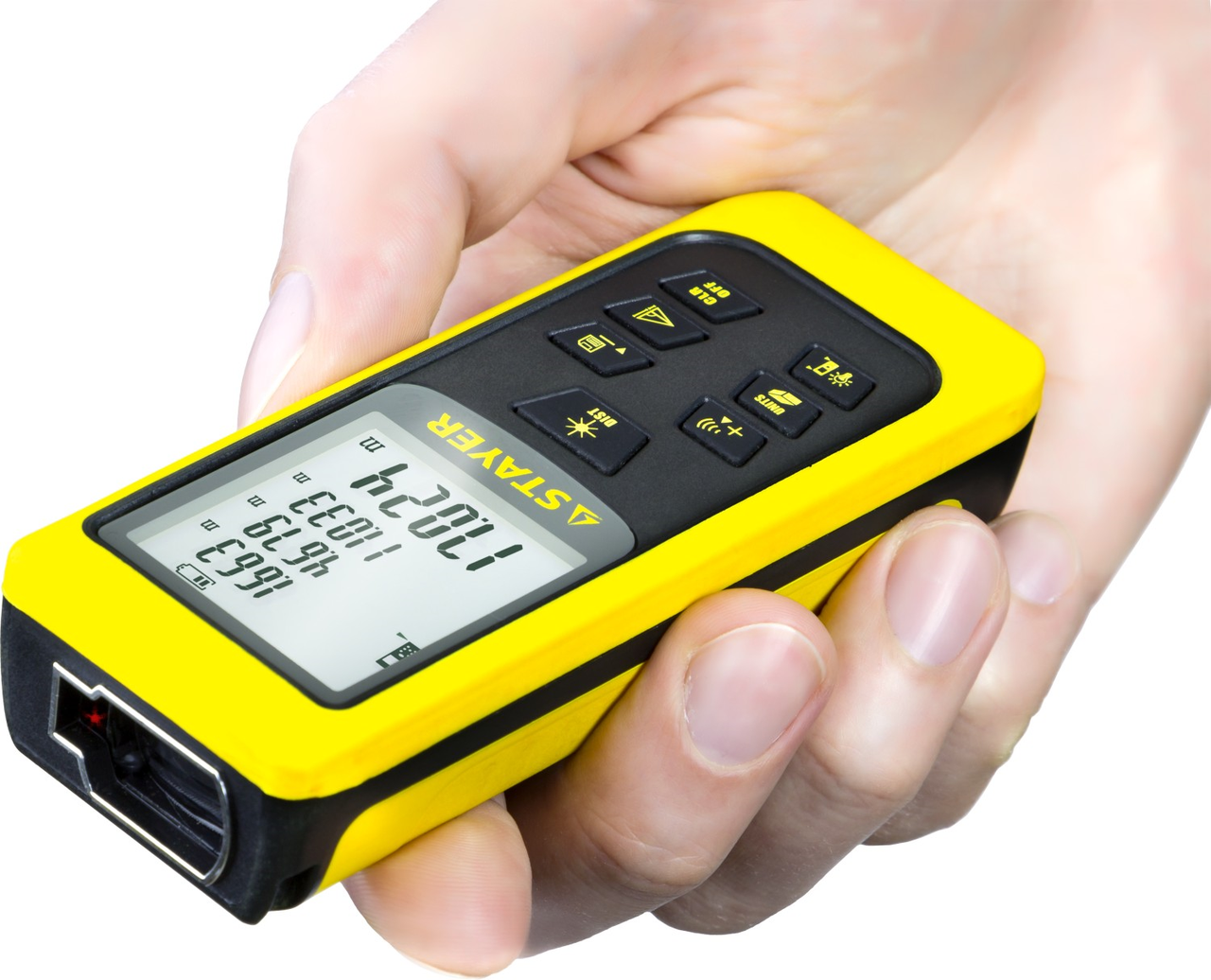 Дальномер лазерный SDL-50 Stayer 34957 (точность 2мм дальность 50м)