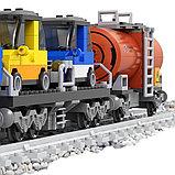 Конструктор аналог лего LEGO City Ausini 25808 серия Поезд (573 детали) Грузовой Локомотив, фото 4