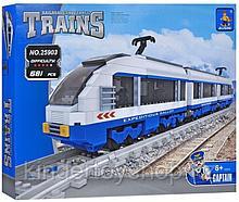 Конструктор аналог лего LEGO City Ausini 25903 Поезд Экспресс 681 детали