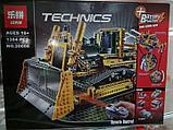 Конструктор аналог Лего Technic 8275 LEGO Technic Bulldozer  LEPIN 20008, фото 6