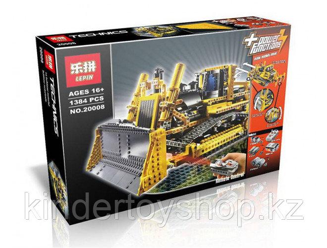 Конструктор аналог Лего Technic 8275 LEGOTechnicBulldozer  LEPIN 20008