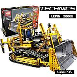 Конструктор аналог Лего Technic 8275 LEGO Technic Bulldozer  LEPIN 20008, фото 5