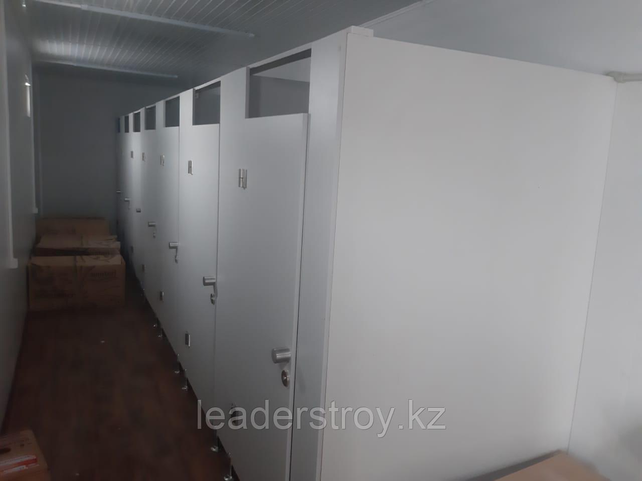 Модульная туалет из 40 футового контейнера