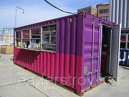 Торговые павильоны из контейнеров на базе 20 или 40 фут.