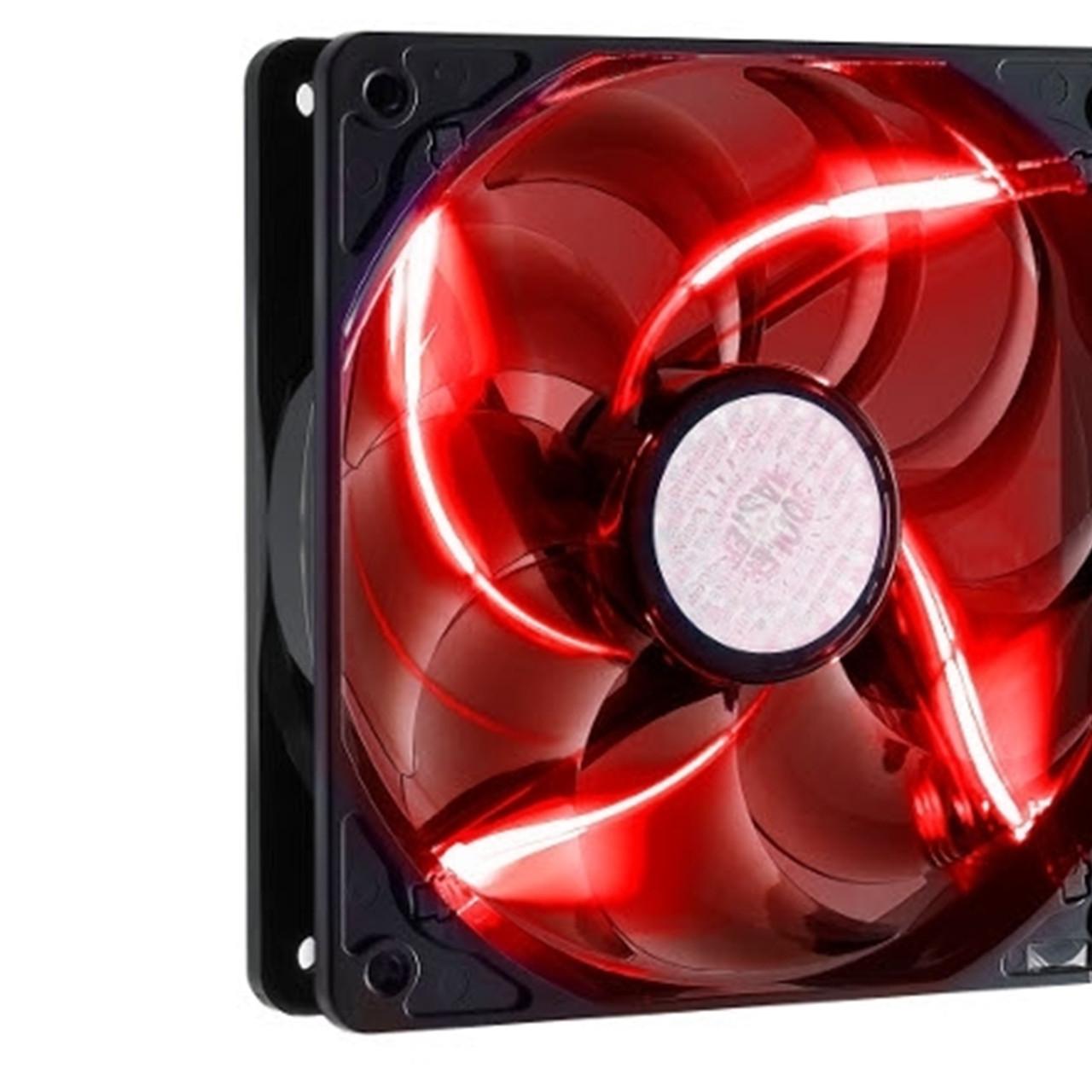 Вентилятор для корпуса CoolerMaster SickleFlow 120 Red LED (R4-L2R-20AR-R1)