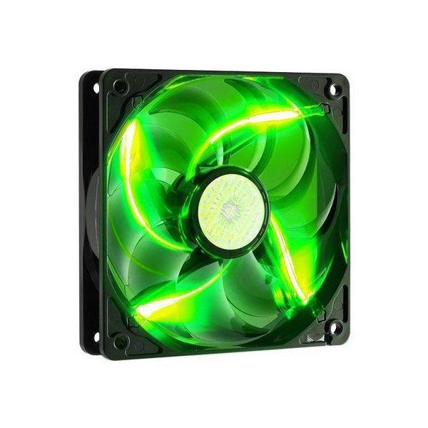 Вентилятор для корпуса CoolerMaster SickleFlow 120 Green LED  (R4-L2R-20AG-R2)