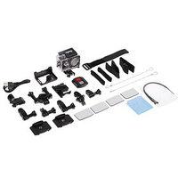 Экшн-камера Luazon RS-05, 4К, Wi-fi, чехол для подводной съемки, 18 предметов, черная