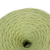 Пряжа трикотажная широкая 50м/170гр, ширина нити 7-8 мм  (салатов. меланж)