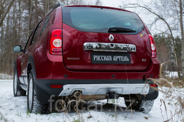 Накладка заднего бампера (аэродинамический обвес) (4 мм.) Renault Duster 2010-, фото 2