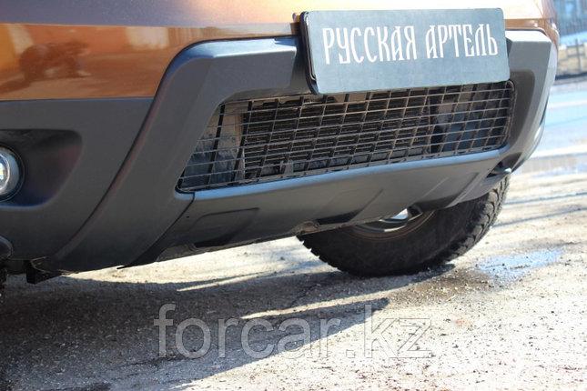 Накладка переднего бампера (аэродинамический обвес) (2 мм.) Renault Duster 2010-, фото 2