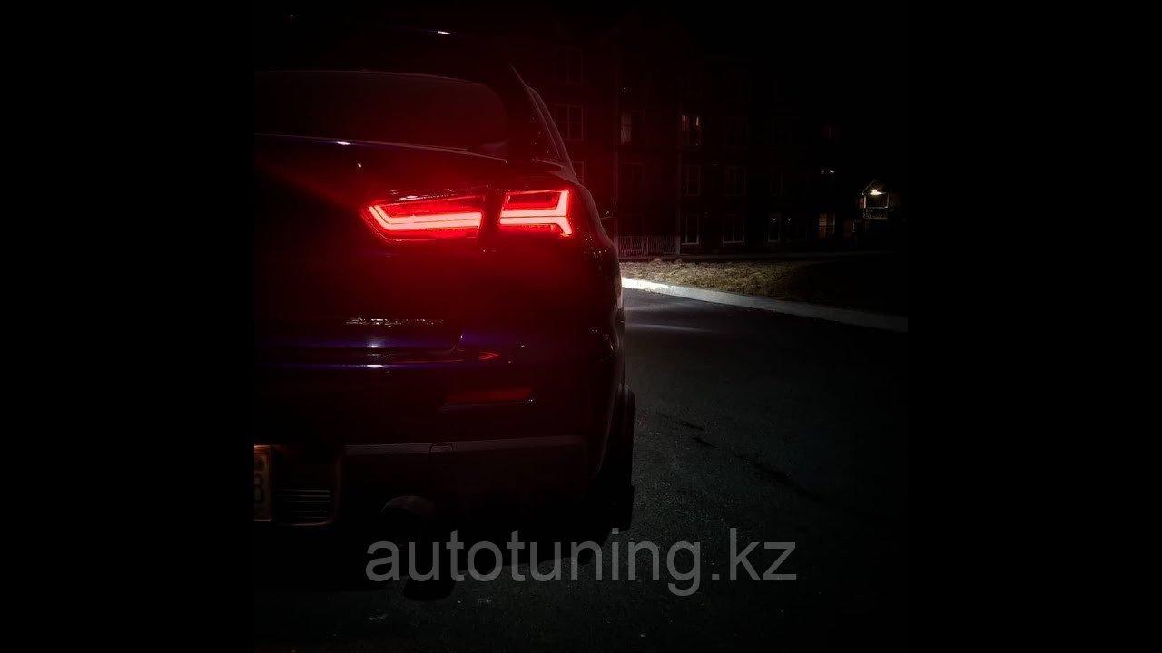 Светодиодные фонари на Mitsubishi Lancer X 2008-2016 г. в стиле AUDI