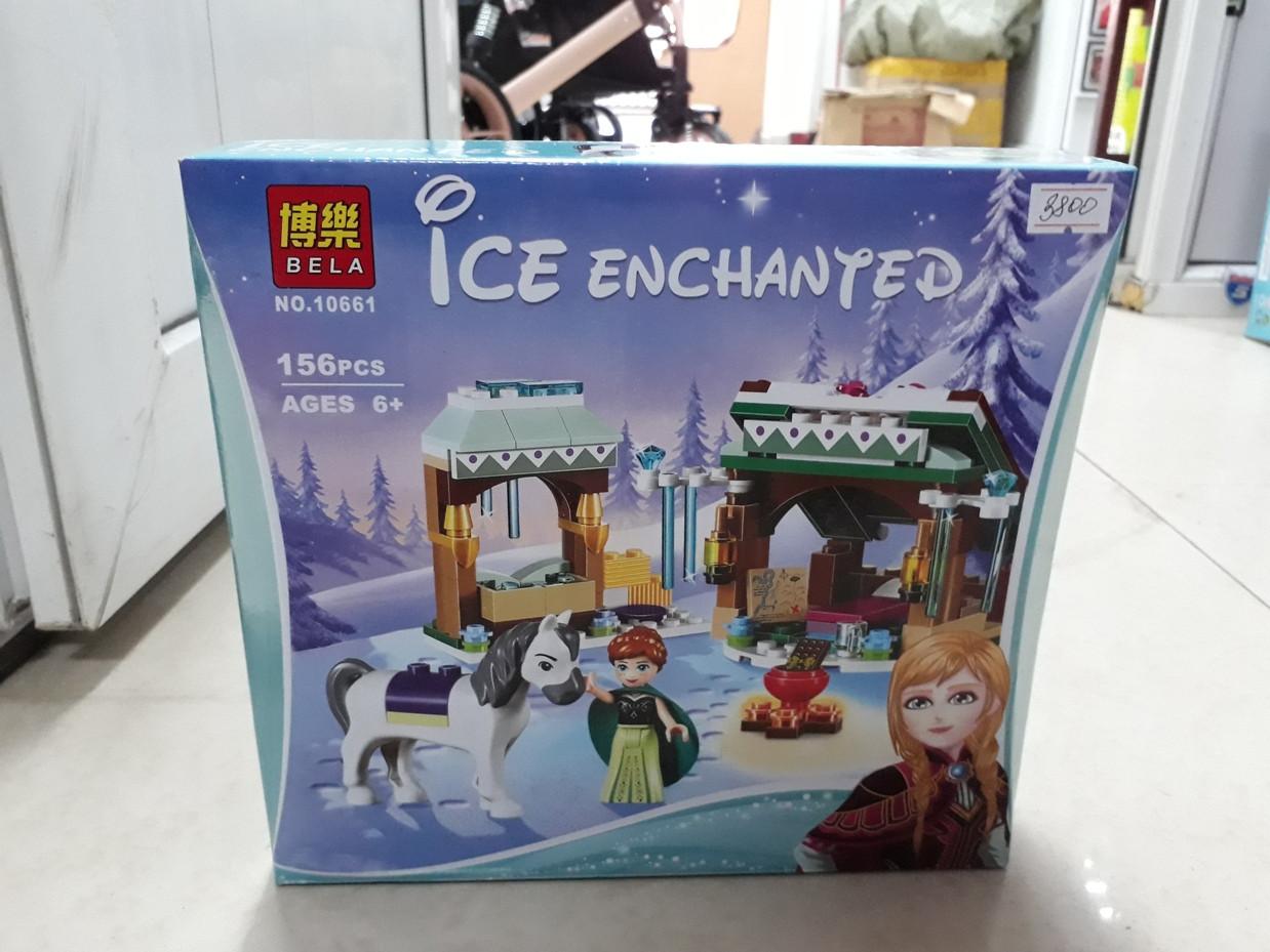 Конструктор Bela Холодное сердце 10661 156 pcs. Ice enchanted. Для девочек - фото 1