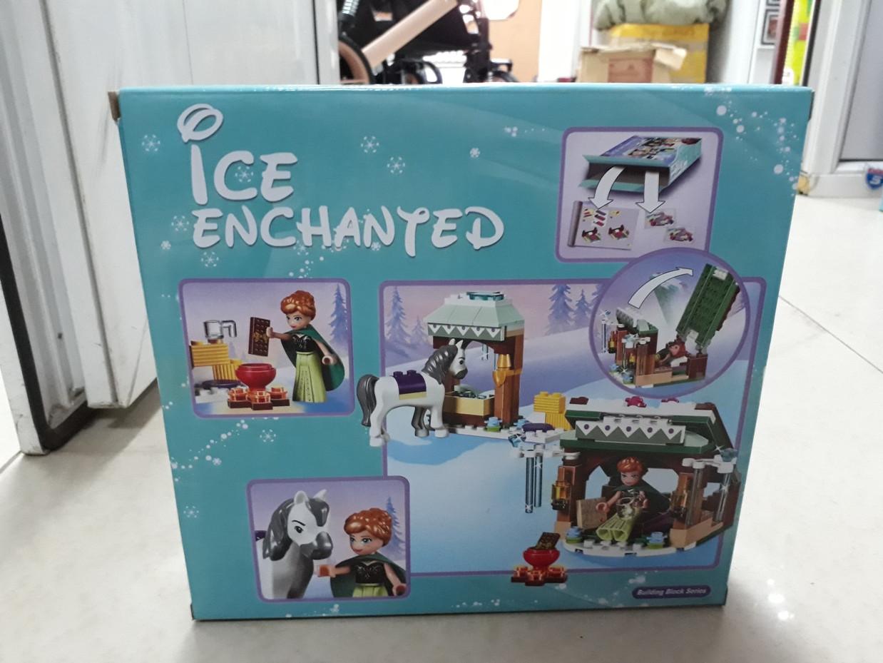 Конструктор Bela Холодное сердце 10661 156 pcs. Ice enchanted. Для девочек - фото 2