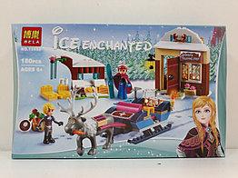 Конструктор Bela Холодное сердце 10666 180 pcs. Ice enchanted. Для девочек.