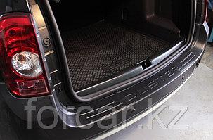 Защита заднего бампера (2 мм.) Renault Duster 2010-