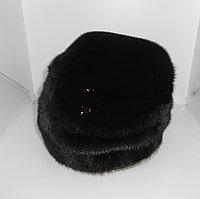 Шапка норка М165-6 черный