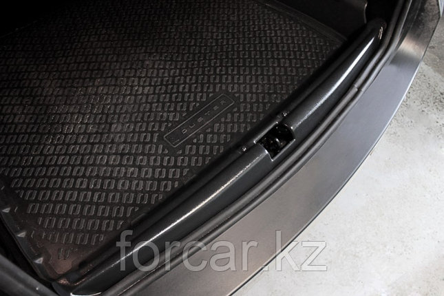 Накладка на порожек багажника (2 мм.) Renault Duster 2010-, фото 2