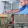 Установка термоголовки радиатора на кран в Алматы. Услуги сантехника