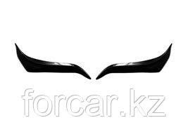 Накладки на передние фары (реснички) Toyota LC Prado 150 2009-2013, фото 2