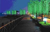 Светодиодные деревья, пальмы, ...