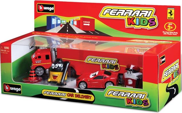 1/43 Bburago Kids с грузовиком