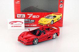 1/24 Maisto Ferrari F50 красный Кит Сборная