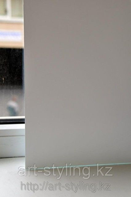 Белая не прозрачная пленка для стекол