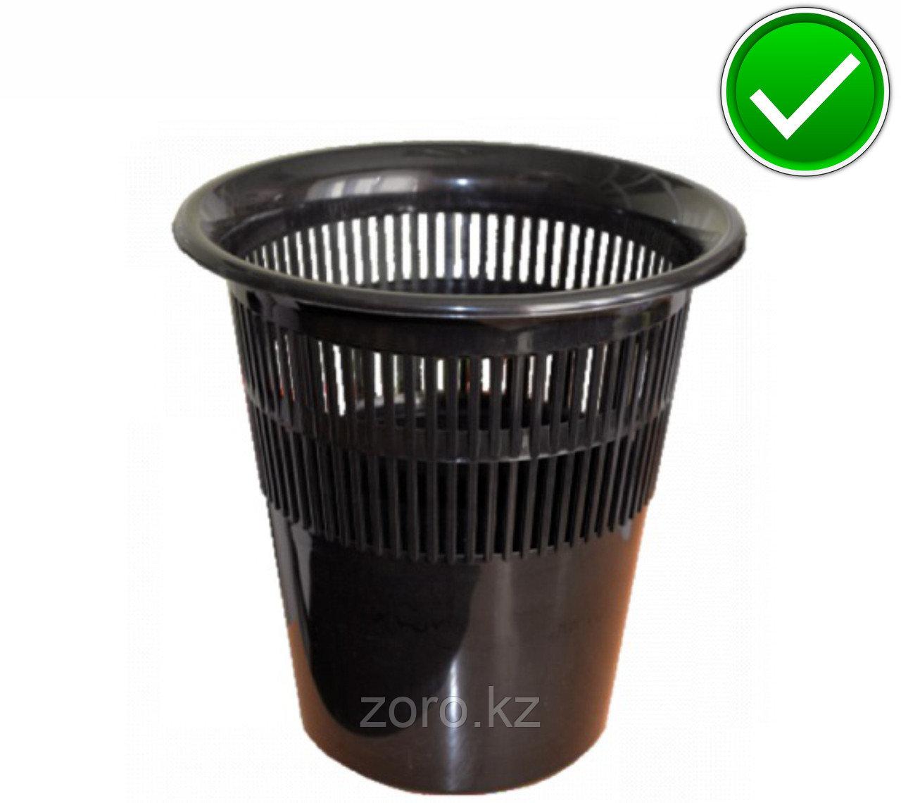 Урна ведро сетка пластиковая офисная корзина для мусора