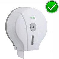 Диспенсер антивандальный для туалетной бумаги Джамбо Vialli  пластиковый белый Турция