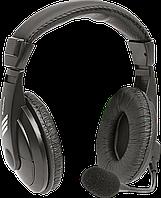 Defender 63750 Gryphon 750 Компьютерная гарнитура, черный,кабель 2 м