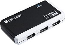 Defender 83504 QUADRO INFIX Универсальный USB разветвитель USB 2.0, 4 порта