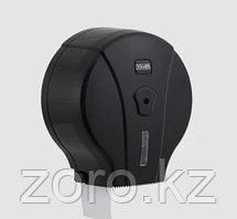 Диспенсер антивандальный для туалетной бумаги Джамбо Vialli  пластиковый черный