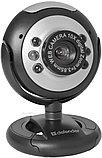 Defender 63110 C-110 Веб-камера 0.3 МП, подсветка, кнопка фото, фото 2