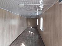 Утепленный контейнер под столовую 40 фут., фото 1