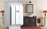 Диспенсер для листовой туалетной бумаги пластиковый серый Турция, фото 5