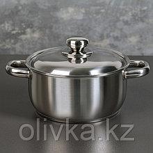Кастрюля «Классика-Прима», 2,5 л, ТРС-3, с металлической крышкой
