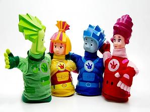 Мягкие игрушки Фиксики