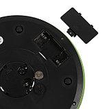 """Весы кухонные LuazON LVK-703, электронные, до 5 кг, встроенные часы, цвет """"хаки"""", фото 5"""