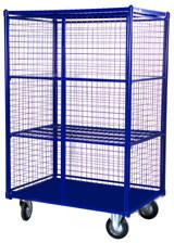 Шкаф сетчатый с сетчатыми стенками ШСМ 6 (800х1200х1500) (Арт. 2360-T)
