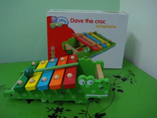 Ксилофон крокодил