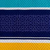 Покрывало Экономь и Я Ультрастеп «Радуга» 240×210 ± 5 см, микрофайбер, 215 г/м², 100% п/э, фото 2