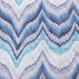 """Покрывало Этель """"Памир"""" 1,5 сп 150*230 см, цв. синий,160 г/м2,100% п/э, фото 2"""
