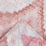 """Покрывало Этель """"Памир"""" 1,5 сп 150*230 см, цв. розовый,160 г/м2,100% п/э, фото 3"""