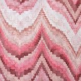 """Покрывало Этель """"Памир"""" 2 сп макси 200*230 см, цв. розовый,160 г/м2,100% п/э, фото 2"""