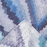 """Покрывало Этель """"Памир"""" 2 сп макси 200*230 см, цв. синий,160 г/м2,100% п/э, фото 3"""