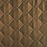 """Покрывало Ультрастеп """"Этель"""" Дамаск CAPPUCCINO SOLID 240х210 см., фото 2"""