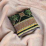 Подушка сувенирная, 15×15 см, можжевельник, фото 2
